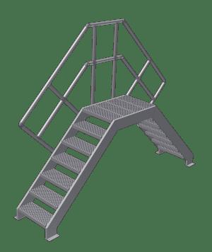 industriële trappen